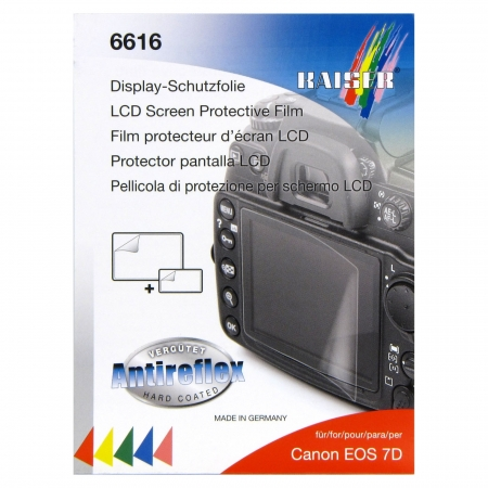 Kaiser 6616 -Folie protectie LCD pentru Canon 7D