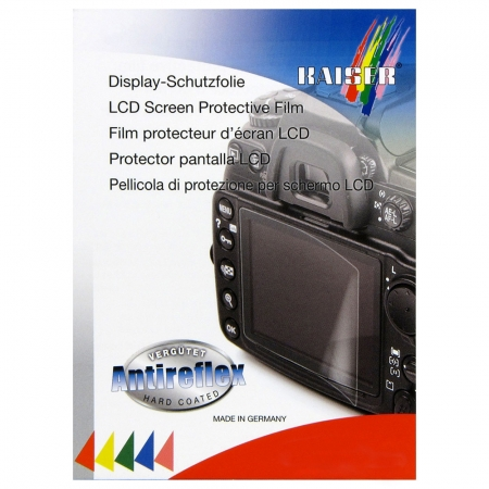 Kaiser 6644 - Folie de protectie LCD pentru Nikon D3200