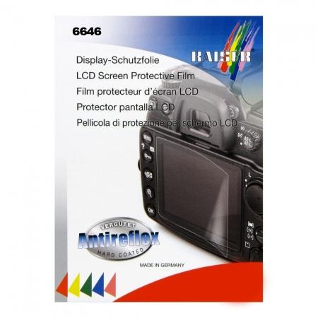 Kaiser 6646 - folie protectie LCD pentru Nikon D5100/D5200