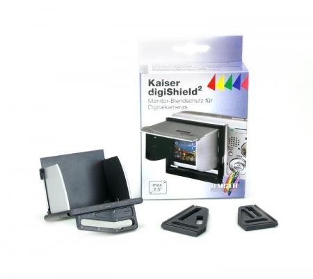Kaiser digiShield 6074 - parasolar pentru ecranul LCD  (max. 2.5 inch)