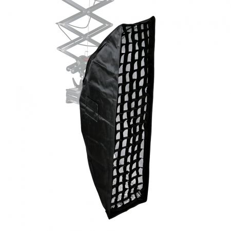 Kast KEC-35140 - softbox strip cu grid 35x140cm + inel Elinchrom