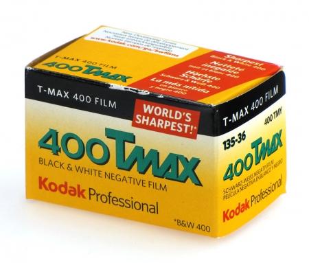 Kodak Professional TMAX 400 - film alb-negru negativ ingust (ISO 400, 135-36)