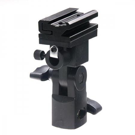 KUMK-5 - suport orientabil stativ pentru umbrela si blit extern/slave