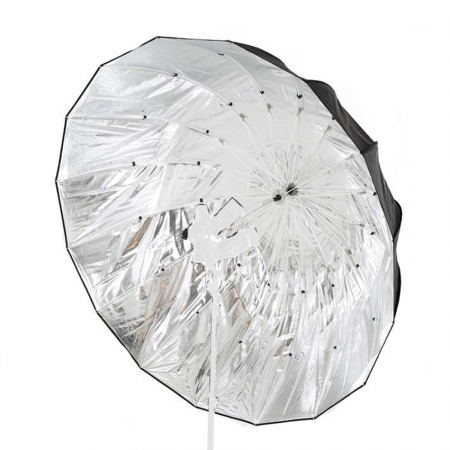 Lastolite Mega Umbrella Silver Parabolic #7908 - umbrela reflexie 157cm