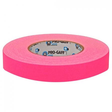 LeMark Fluo Pro-Gaff roz 24mm - banda adeziva