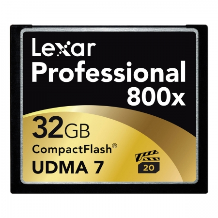 Lexar Professional CF 32GB  800X UDMA 7