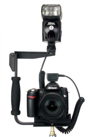 LH-01 Flash Light Holder - Patina blitz cu suport