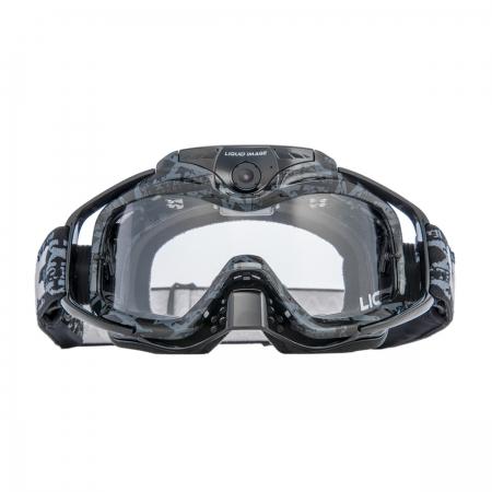 Liquid Image Torque HD368 Offroad 1080p negru - ochelari motocross cu camera foto/video Full HD