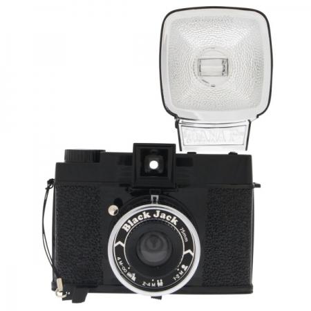 Lomography Diana F+ Black Jack - aparat foto format lat 120