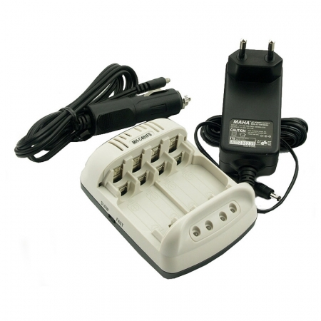 Maha MH-C401FS - incarcator inteligent cu 4 canale pentru acumulatori  AA / AAA