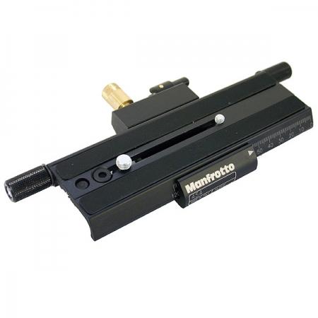 Manfrotto 454 - Adaptor micrometric cu placa