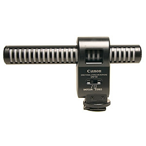 Microfon Canon DM-50 (Hot Shoe) - directional, stereo