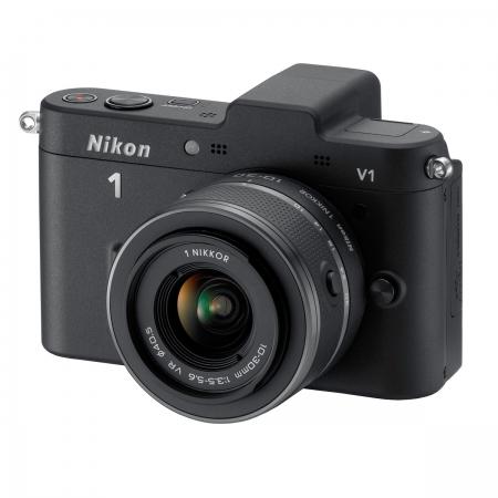 Nikon 1 V1 negru kit - Nikkor 1 10-30mm f/3.5-5.6 VR CX