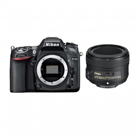 Nikon D7100 kit AF-S Nikkor 50mm f/1.8G