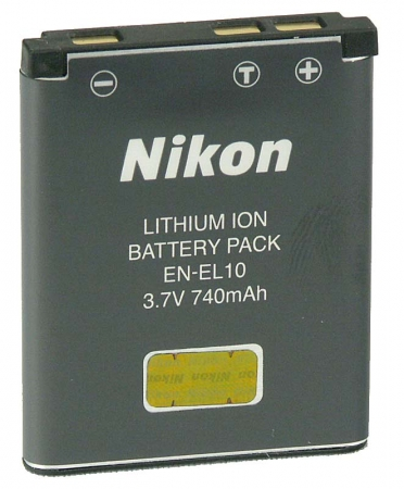 Nikon EN-EL10 - acumulator original, 740mAh