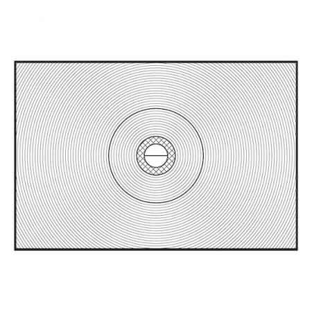Nikon K3  - geam mat (de focalizare) pentru Nikon FM3A