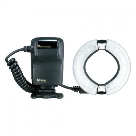 Nissin MF18 Ring Flash - blitz macro pentru Canon