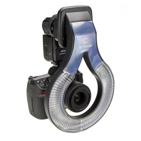 O-Flash F155 - Ringflash pt Nikon D80 / D50 (SB800); Nikon D70 / D300 / D200 (SB600); Canon EOS 300D / 350D / 400D / 450D / 500D / 1000D (430EX / 430EXII)