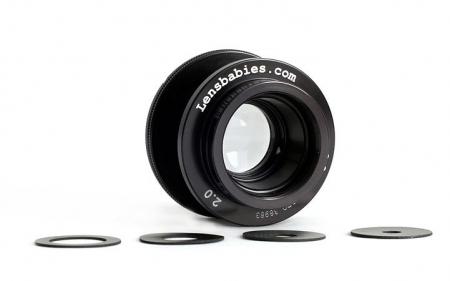 Obiectiv Lensbaby 2.0 50mm f/2 pentru Minolta MD