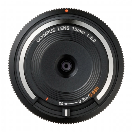 Olympus Body Cap Lens 15mm 1:8.0 - negru
