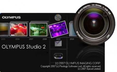 Olympus Studio 2 - Software procesare imagini digitale