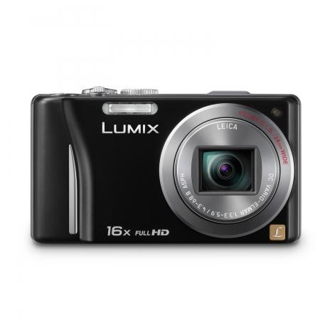 Panasonic Lumix DMC-TZ20 negru - 14MP, zoom 16x, touchscreen, GPS