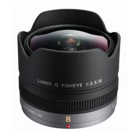 Panasonic  Lumix G 8 mm f/3.5 fisheye (H-F008E)