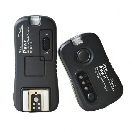 Pixel Pawn - kit transmitator - receptor pentru Canon / Pentax