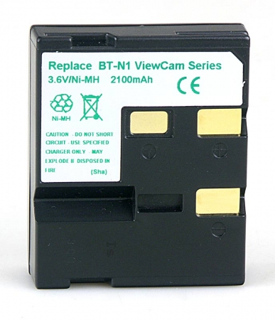 Power3000 PB301D.21H - acumulator Ni-Mh tip BT-N1 pentru camere video Sharp, 2100mAh