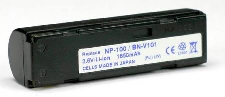 Power3000 PL100B.866 - acumulator tip BN-V101 pentru JVC, 1850mAh