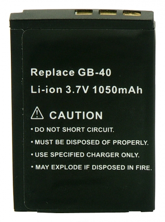 Power3000 PL104B.635 - acumulator tip GB-40 pentru aparate foto GE,  1050mAh