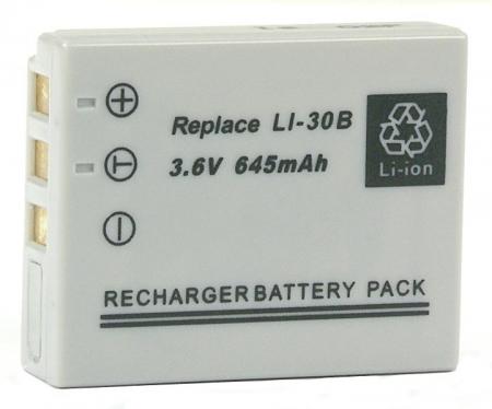 Power3000 Pl130K.723 - acumulator tip Li-30B pentru Olympus, 645mAh