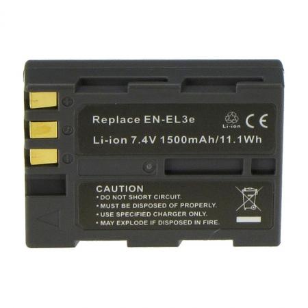 Power3000 PL136G.853 - acumulator tip EN-EL3E pt Nikon D80/ D300, 1500mAh