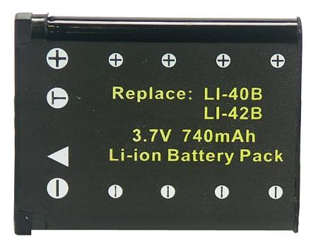 Power3000 PL140B.353 - acumulator Li-Ion tip Kodak Klic-7006, 740mAh