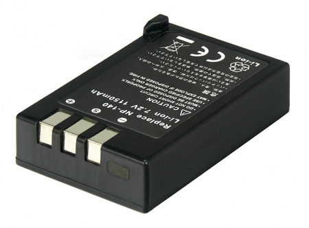 Power3000 PL142B.531 - acumulator tip NP-140 pentru Fuji S100FS, 1150mAh