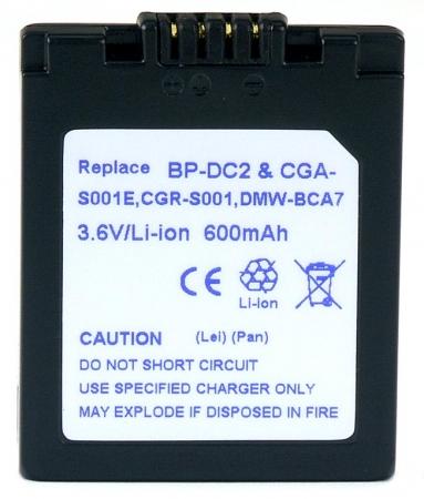 Power3000 PL17D.534 - acumulator tip BP-DC2 pentru Leica, 600mAh