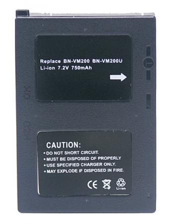 Power3000 PL208D.724 - acumulator tip JVC BN-VM200U, 750mAh