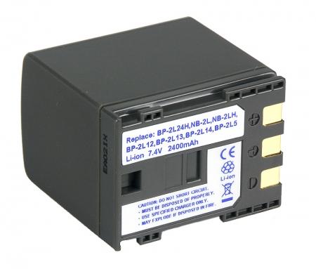 Power3000 PL236D.934 - acumulator Li-ion tip BP-2L12 /BP-2L24 pentru Canon, 2400mAh