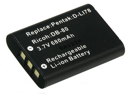Power3000 PL317B.637 - acumulator tip LI-60B pentru Olympus, 680mAh