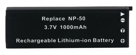 Power3000 PL375B.265 - acumulator tip NP-50 / NP-50DBA pentru Casio, 1000mAh