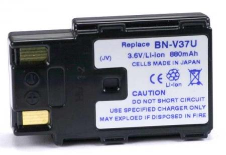 Power3000 PL37D.148 - acumulator tip BN-V37U pentru JVC, 880mAh