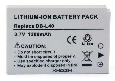 Power3000 PL410G.531 - acumulator tip DB-L40 pentru Sanyo, 1200mAh