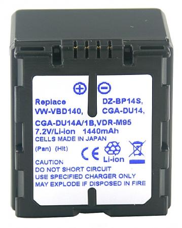 Power3000 PL414D.533 - acumulator tip DZ-BP14S pentru Hitachi, 1440mAh