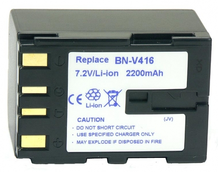 Power3000 PL416D.751 - acumulator tip BN-V416,BN-V416U pentru camere video JVC, 2200mAh