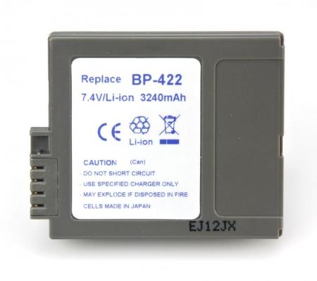 Power3000 PL422M.855 - acumulator Li-ion tip Canon BP-422, 3240mAh