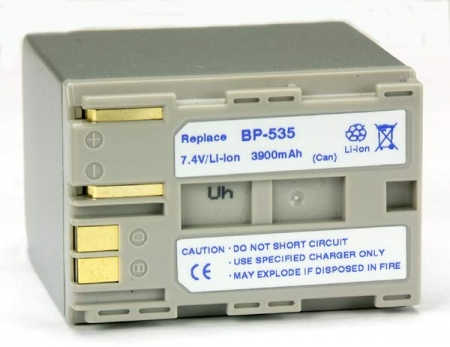 Power3000 PL535S.851 - acumulator tip BP-535 pentru Canon,  3900mAh