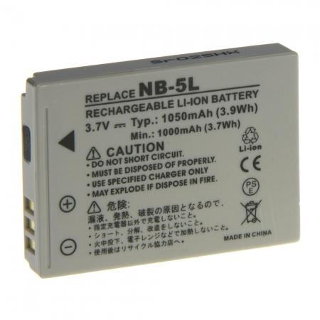 Power3000 PL56G.731 - acumulator tip NB-5L pentru Canon, 1050mAh