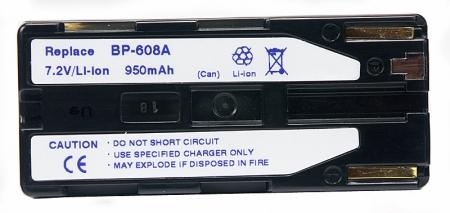 Power3000 PL608B.146 - acumulator tip Canon BP-608A, 950mAh