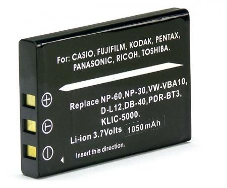 Power3000 PL60B.346 - acumulator tip KLIC-5000 pentru Kodak, 1000mAh