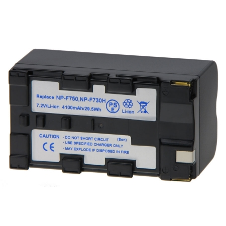 Power3000 PL705D.080 - acumulator Li-Ion tip NP-F750, NP-F770 pentru camere video Sony, 4100mAh